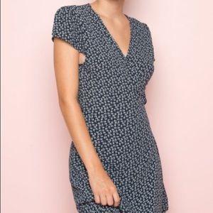 Brandy Melville Robbie Tie Wrap Dress (OS)